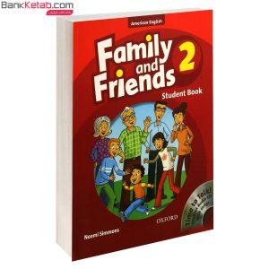 کتاب American Family and Friends2