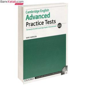 کتاب combridge english advanced practice tests