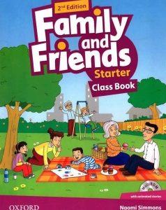 کتاب family and friends – class book