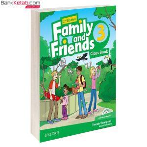 کتاب Family and Friends 3 2nd Classbook