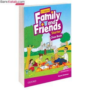 کتاب Family and Friends 2nd Starter SB+WB+2CD