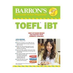 کتاب TOEFL iBT Fifteenth Edition