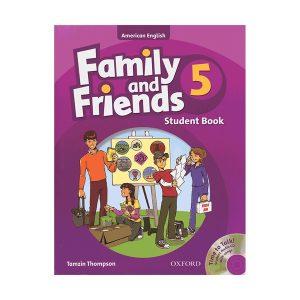 کتاب Family and Friends 5 Second Edition Class
