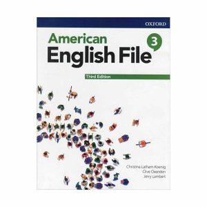 کتاب American English File 3 Second Edition Student Pack