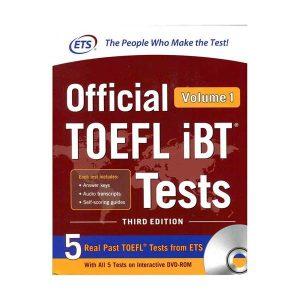 کتاب Official TOEFL i B T Tests 3rd