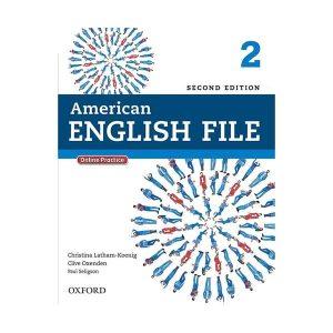 کتاب American English File 2 Second Edition Student Pack از انتشارات oxford
