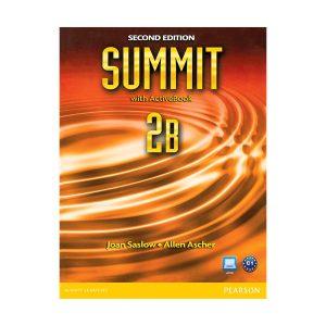 کتاب Summit 2 B Second Edition Student Pack