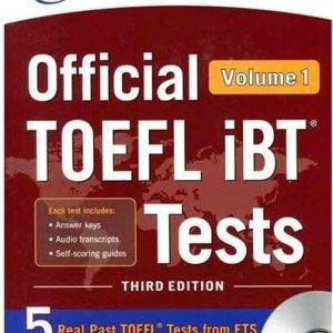 کتاب TOEFL IBT Tests 3rd